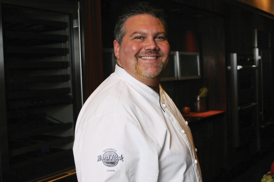 Seminole Hard Rock Hotel & Casino's Executive Chef Bill Gideon