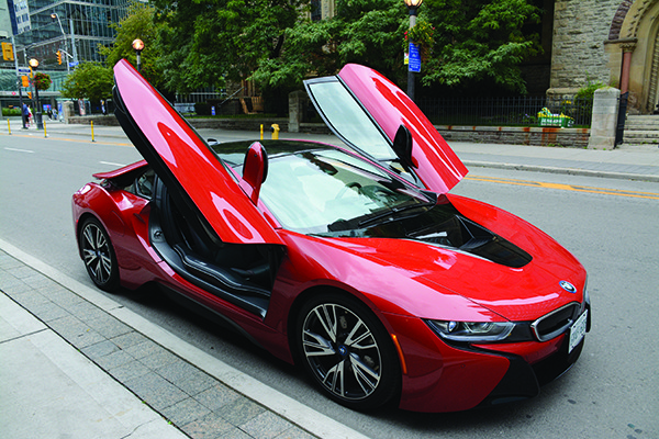 2017 Bmw I8 Protonic Red Edition Plug In Hybrid Review Dupont