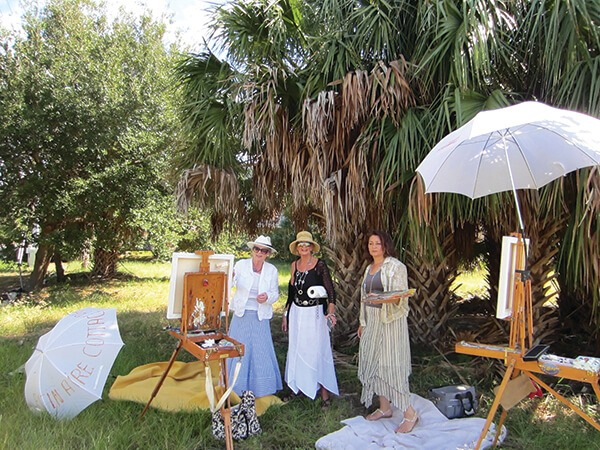 Plein Aire Cottage Artists
