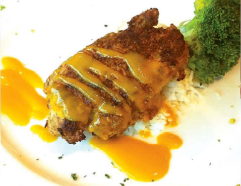 Three Nut Crusted Grouper Middle Grounds Grill