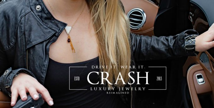 Crash Jewelry Made From The Metal Of Luxury Cars